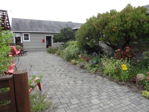 the center courtyard