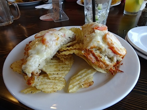 I had been craving the delicious tuna melt...