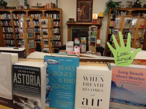 I visited owner Karla at Time Enough Books...