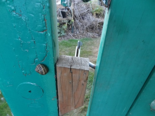 """The lock upon my garden gate's a snail, that's what it is."""