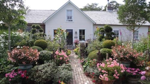 a delightful prospect for garden visitors
