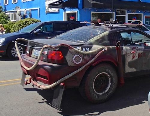 an art car (Allan's photo)