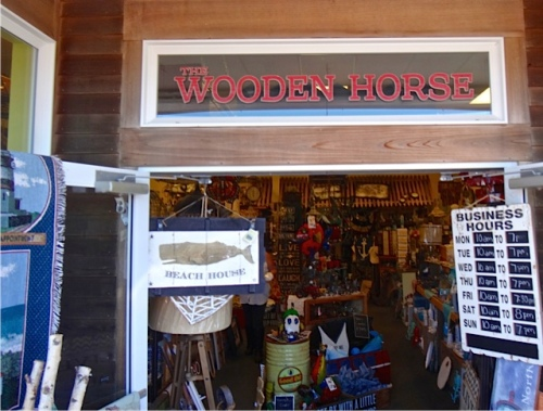 Allan's photo: a favourite shop, The Wooden Horse.
