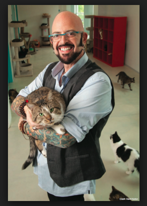 the font of cat wisdom, Jackson Galaxy