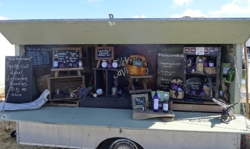 the darling Wild For Lavender booth
