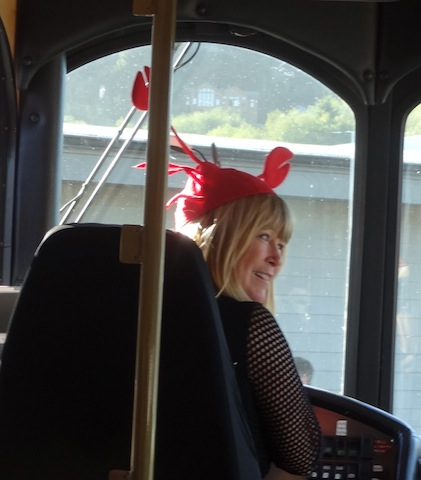 Trolley driver Pam