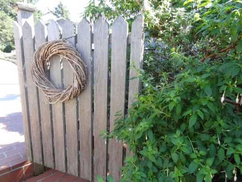 the picket fence gate