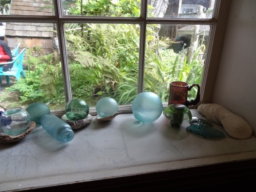 front window sill