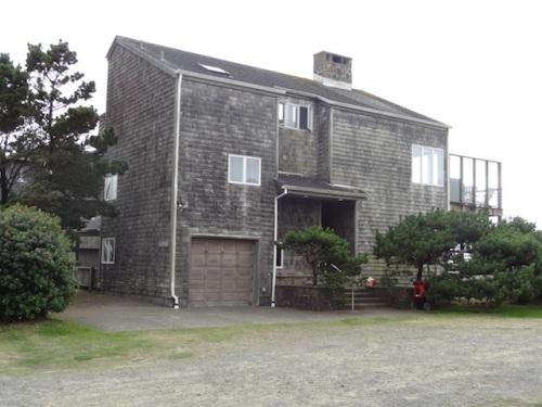 a modern ocean view home