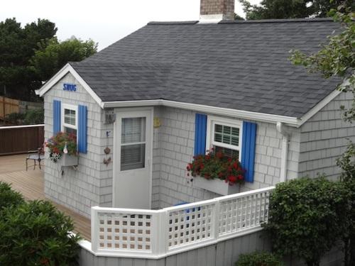 """view of next door cottage called """"Snug"""""""