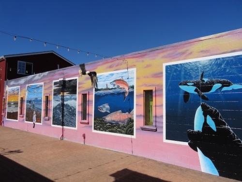 Fish Alley murals, completed