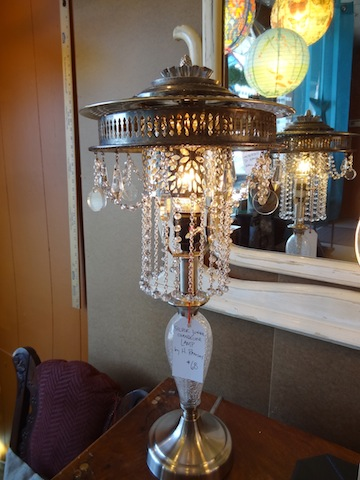 lamp by owner/artist Heather Ramsay