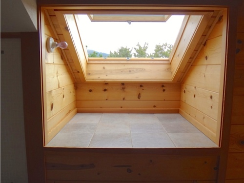 a sittable skylight (Allan's photo)