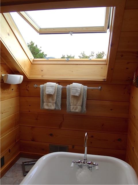 dreamy tub with skylight (Allan's photo)