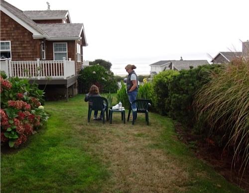 front garden (Allan's photo)