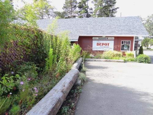 autumnal Depot garden
