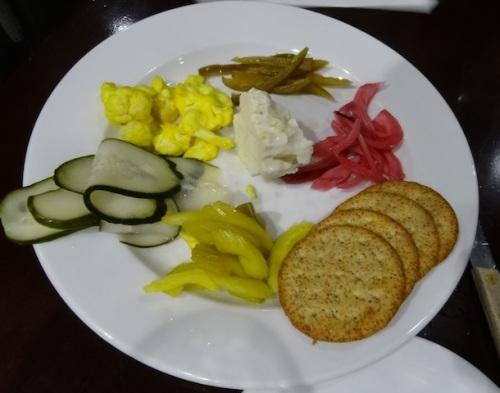 Chef Jason Lancaster sent us a scrumptious appetizer plate.