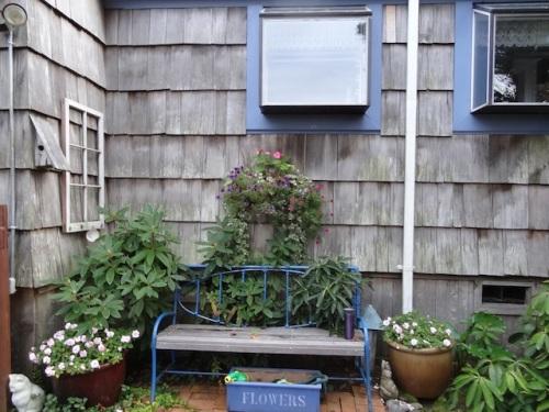 center courtyard sit spot