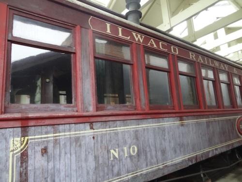 Nahcotta railway car