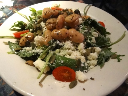 I made sure to have the Baja salad because it will be gone from the fall/winter menu.