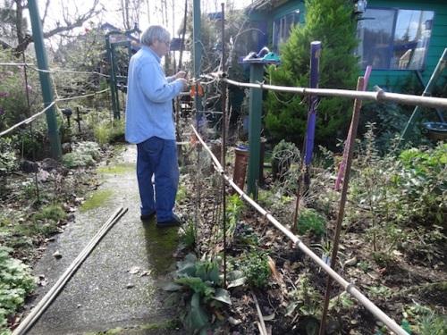 Allan installing the framework