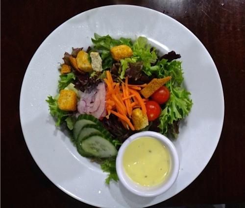 house salad (Allan's photo)