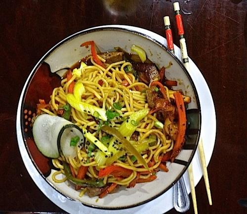 noodle bowl (Allan's photo)