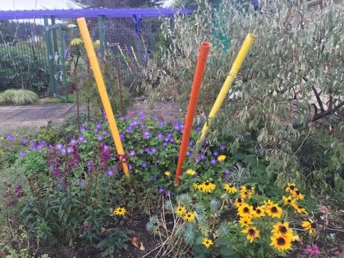 the driveway garden