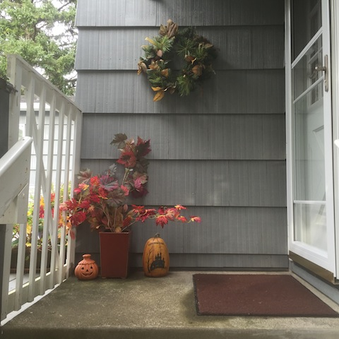 Mary's autumn decor