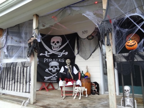 They really are pirates for hire (for festivities).