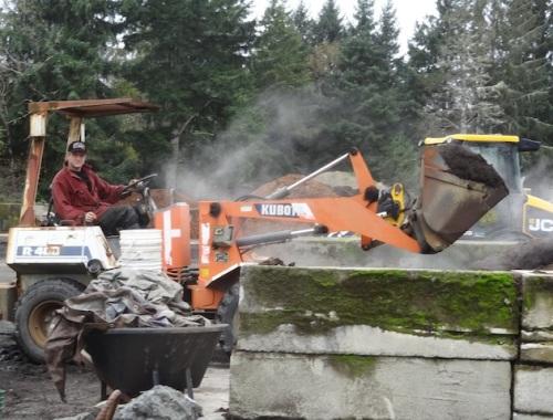 mulch loading