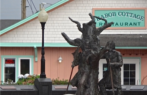 We are so sad the Kabob Cottage closed. (Allan's photo)