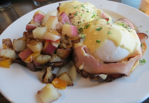 and eggs Benedict