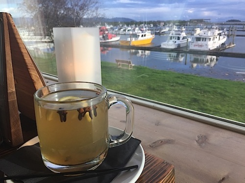 a soothing hot toddy