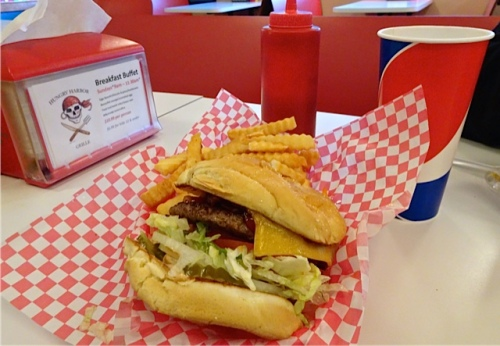 Allan's photo: Hungry Harbor burger