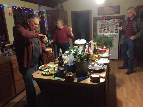 Dave, Melissa, Todd